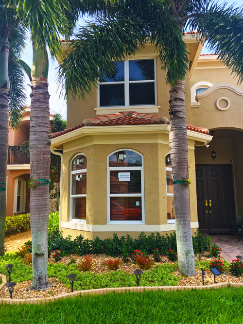 new impact windows installed - florida estate