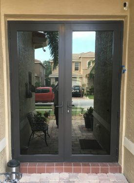 french / swing impact doors